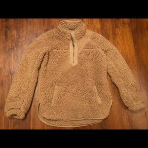 Women's Abercrombie and Fitch Sherpa Size Medium